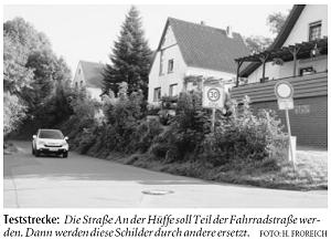 radfahrer sollen vorfahrt haben die gr nen bad oeynhausen. Black Bedroom Furniture Sets. Home Design Ideas